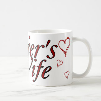 Soldier's Wife: Scribble Hearts Mug