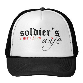 Soldier's Wife: Stength & Love Hat