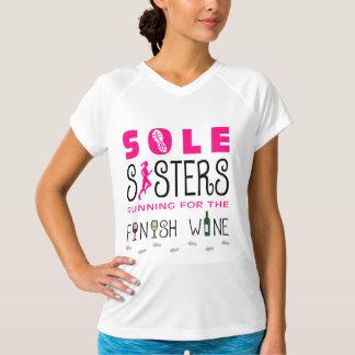 Sole Sisters Finish Wine - Champion SS T-Shirt
