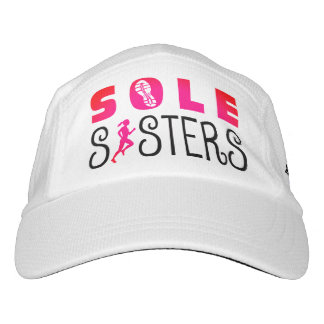 Sole Sisters Running for the Finish Wine Hat