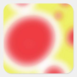 Sole Square Sticker
