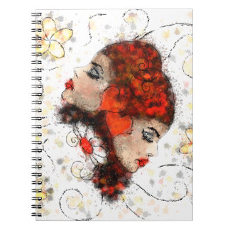 Solemissia - the real flower spiral notebooks
