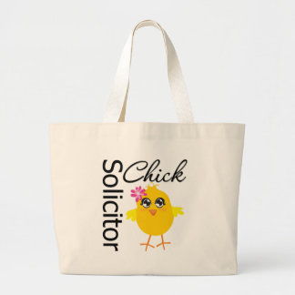 Solicitor Chick Jumbo Tote Bag