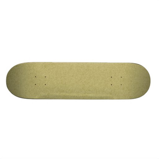 SOLID08 SOLID TAN GREENISH NEUTRAL COLOR  TEMPLATE SKATE DECK