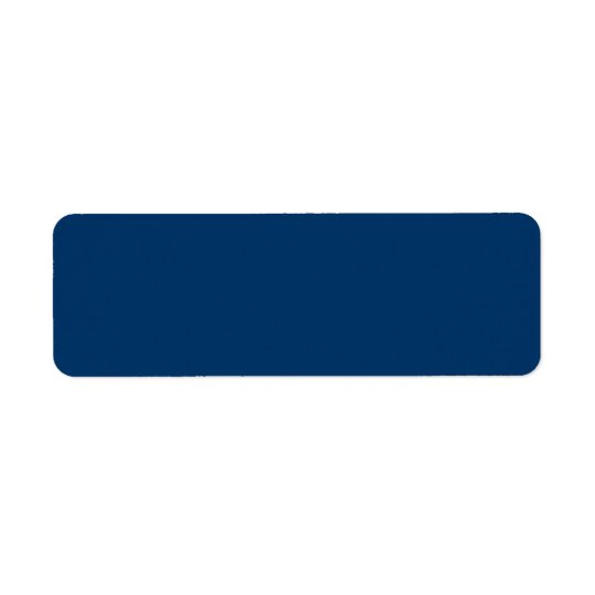 Solid Background 003366 Dark Blue Address  Labels