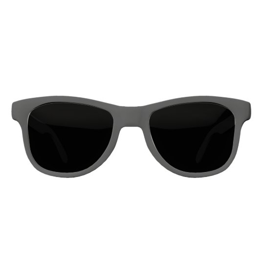Solid Black Colour Sunglasses