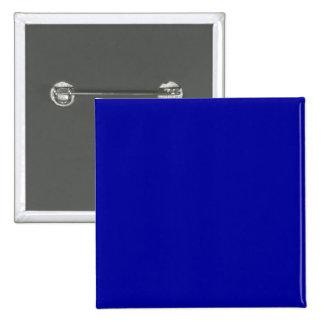 Solid Blue Background Web Color 000099 15 Cm Square Badge