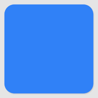 solid blue solid background solid color square sticker