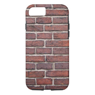 Solid Brick Wall Pattern iPhone 7 Case