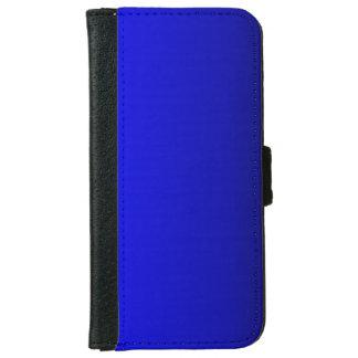 Solid Bright Cobalt Blue iPhone 6 Wallet Case
