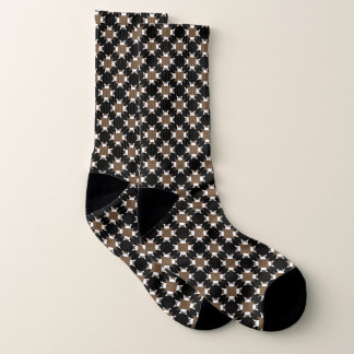 Solid Circle Cross by Kenneth Yoncich Socks