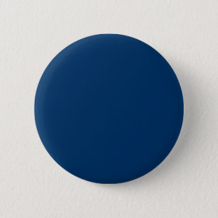Solid Color 003366 Dark Blue Background Template 6 Cm Round Badge
