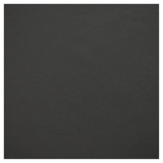 Solid Color: Black Fabric