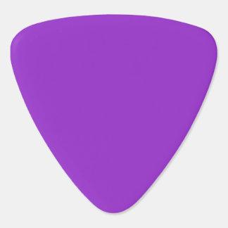 Solid Color Dark Orchid Guitar Pick