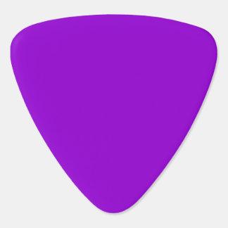 Solid Color Dark Violet Guitar Pick