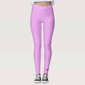 SOLID COLOR LIGHT PURPLE LEGGINGS HAVIC ACD