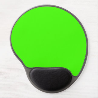 Solid Color: Lime Green Gel Mousepads