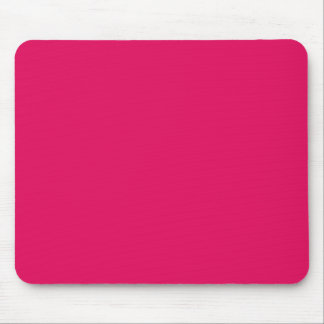 solid color raspberry mouse pad