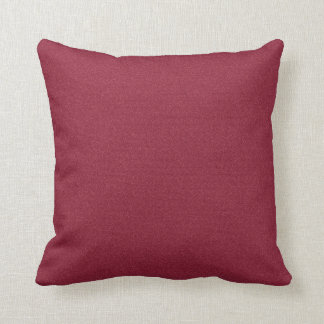 Solid Cranberry Cushion