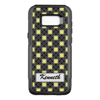 Solid Four Star Circle Cross by Kenneth Yoncich OtterBox Commuter Samsung Galaxy S8+ Case