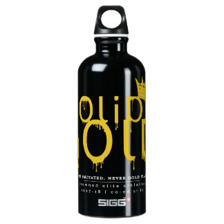 SOLID GOLD: 17-18 Official Logo Water Bottle