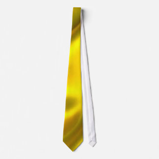 Solid gold tie