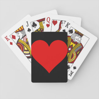 Solid Heart Playing Cards