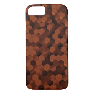 Solid Honeycombs Sienna iPhone 8/7 Case