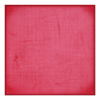 Solid Hot Pink Backdrop Canvas Poster
