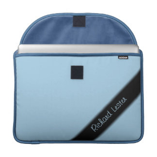 Solid Light Cornflower Blue Sleeve For MacBooks