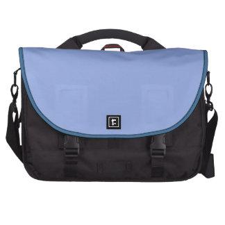 Solid Light Ultramarine Blue Laptop Computer Bag