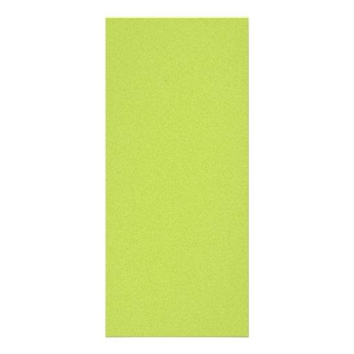 solid-lime BRIGHT LIGHT LIME GREEN YELLOWISH BACKG Custom Rack Card