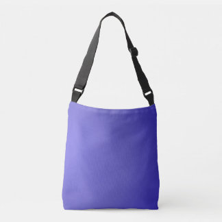 Solid Lotus Blue Crossbody Bag