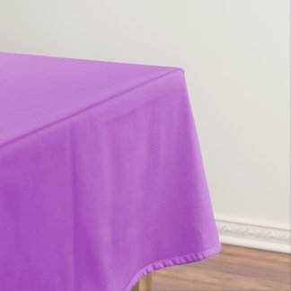 Solid Orchid Tablecloth