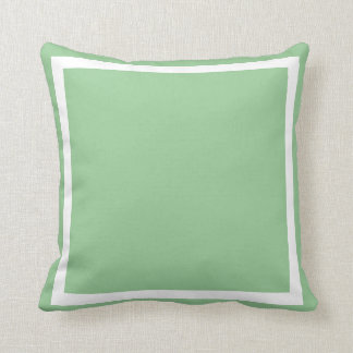 solid pastel seafoam  green blue plain pillow