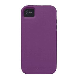 Solid PLUM iPhone 4 Case