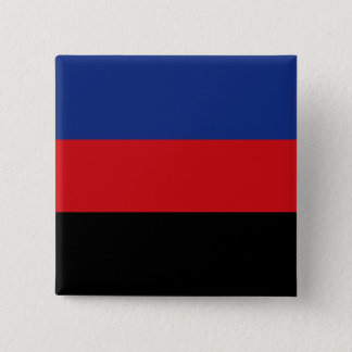 Solid Polyamory Pride Flag 15 Cm Square Badge