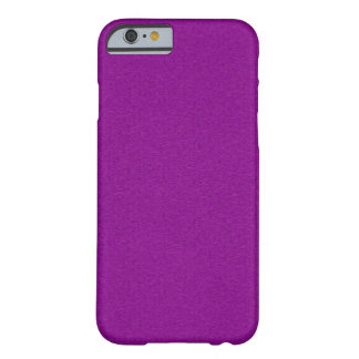 Solid Purple Glimmer Barely There iPhone 6 Case