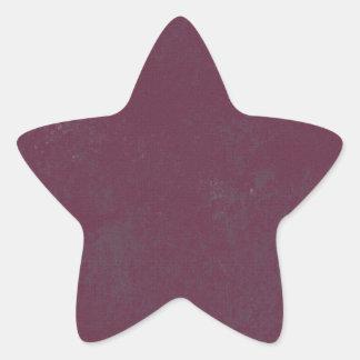 solid-purple GRUNGE SOLID MARBLE GRAPE PURPLE TEXT Star Sticker