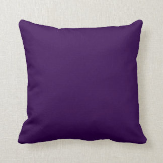 Solid Royal Purple Pop of Color Cushion