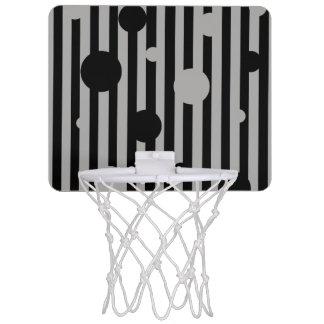 Solid Silver Mini Basketball Hoop