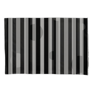 Solid Silver Reversible Pillowcase
