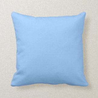 Solid soft pastel  perrywinkel  blue  pillow throw cushion