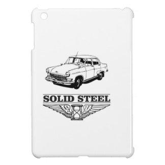 solid steel car white iPad mini cases