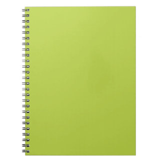 Solid Tender Shoots Green Notepad Notebooks