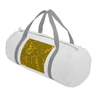 solid thorns,golden (I) Gym Duffel Bag