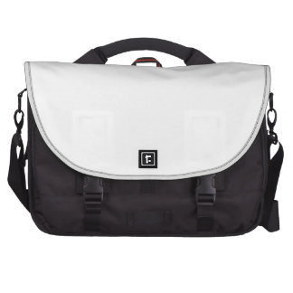 Solid White Commuter Bag