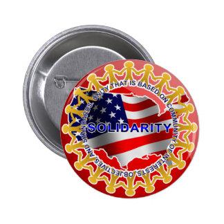 Solidarity 6 Cm Round Badge