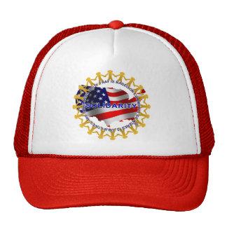 Solidarity Circle Mesh Hat