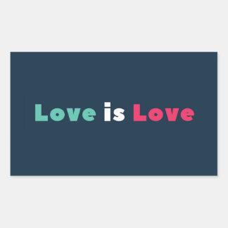 Solidarity Love Is Love Sticker